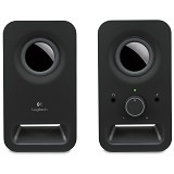 LOGITECH Z150 Multimedia Speakers [980-000860] - Black - Speaker Computer Basic 2.0